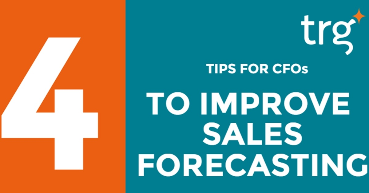 [Infographic] How CFOs can help improve sales forecasting