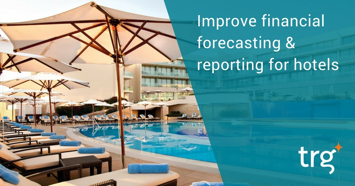 Automating financial forecasting for hotels with cloud-based systems