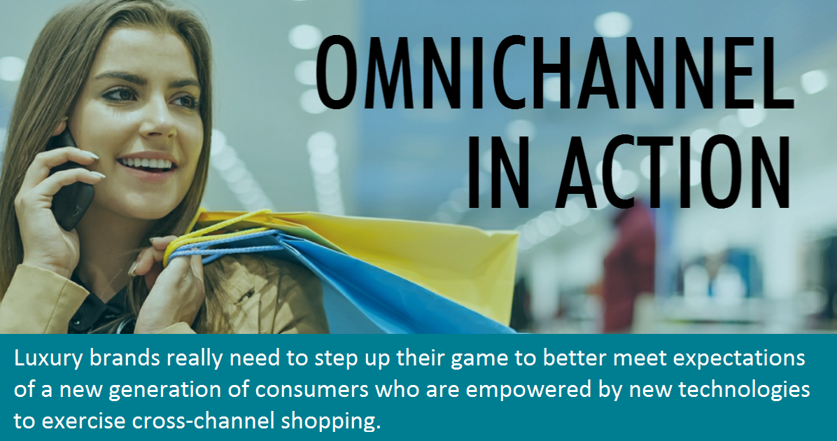 Luxury shoppers expect omnichannel experiences