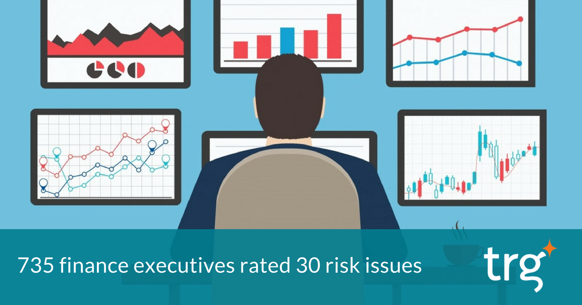 [Infographic] - Top 5 risks for CFOs in 2017
