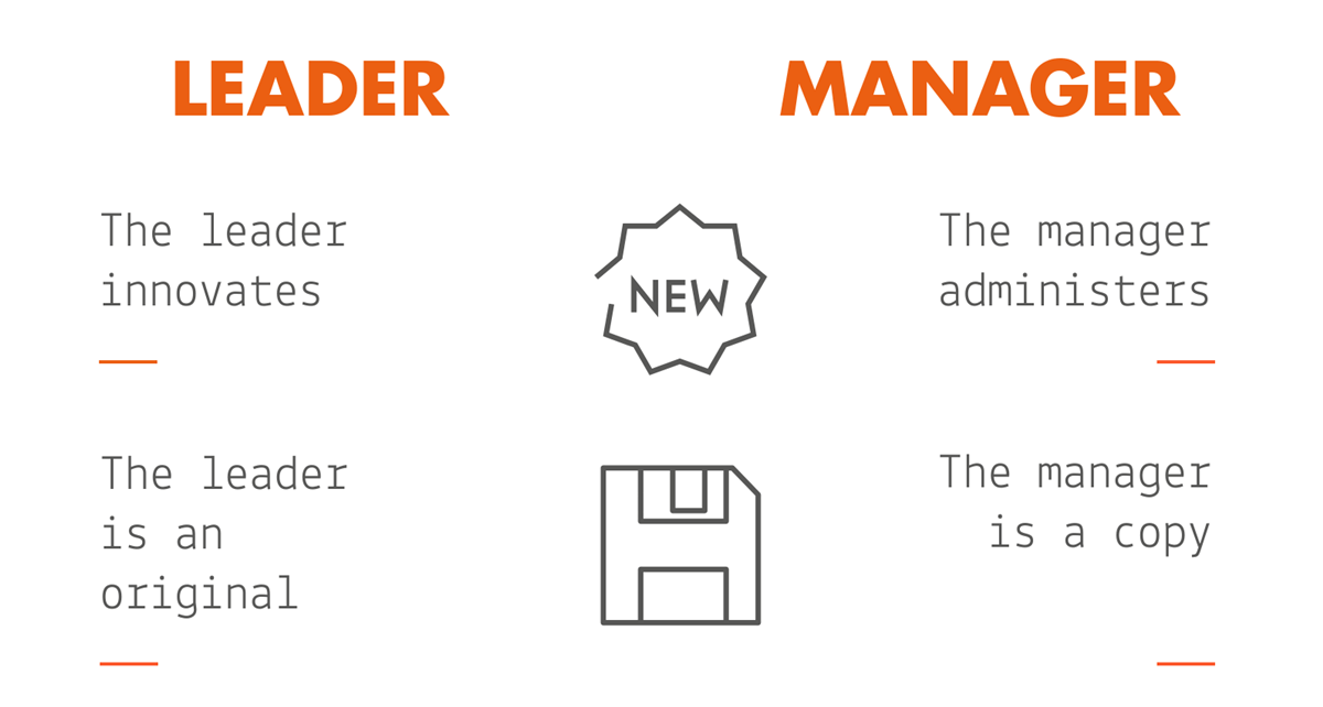 [Infographic] Are You a Manager or a Leader?